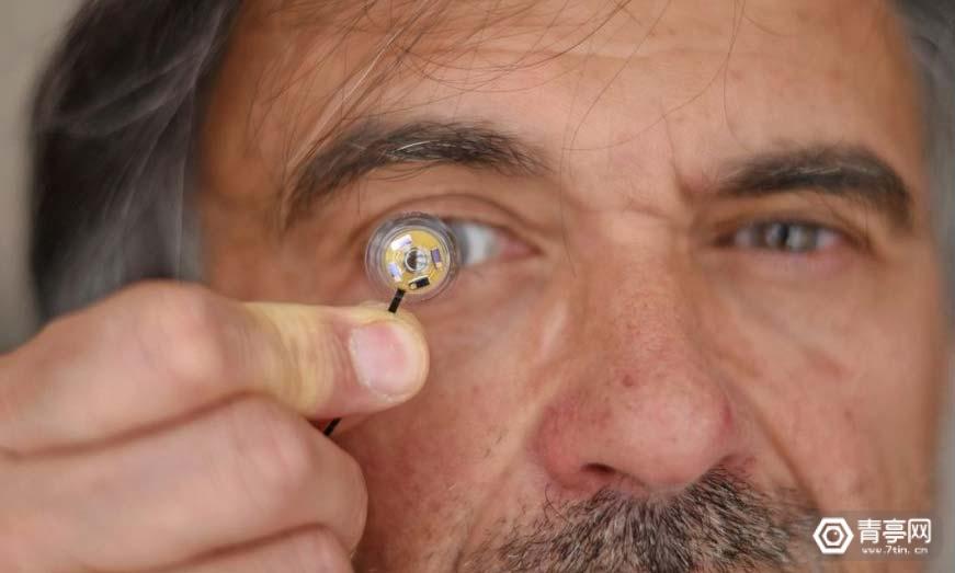 这款内置芯片的隐形眼镜,竟是AR眼镜最佳搭档