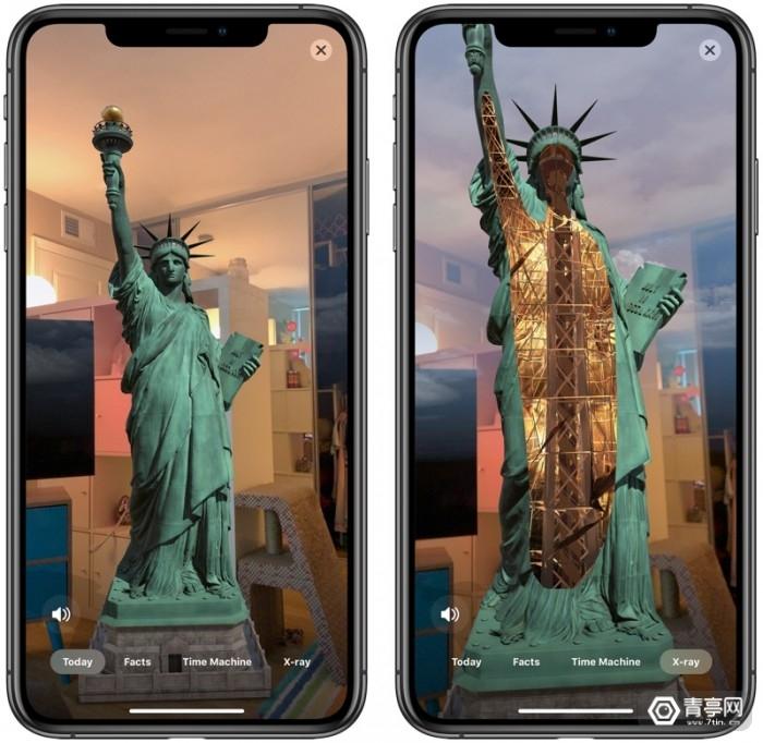 库克发文推广新自由女神像AR应用