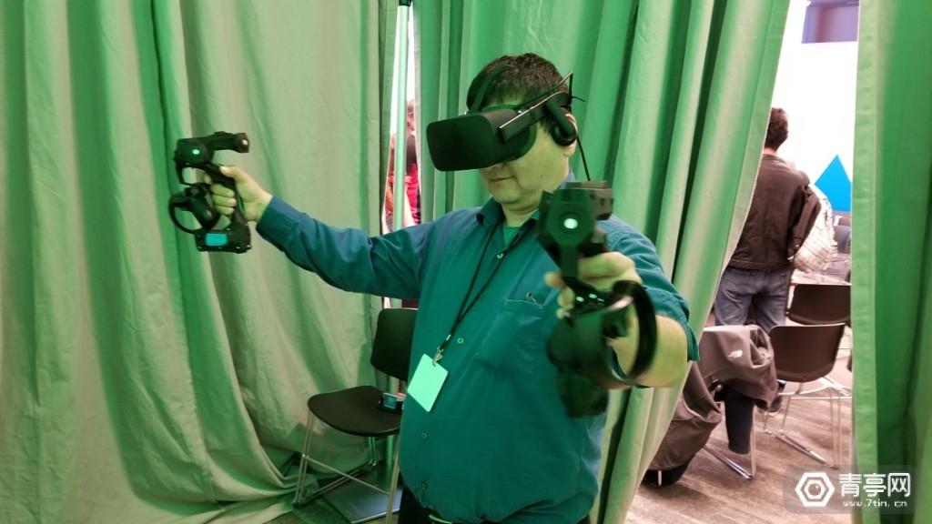 AWE 2019:可模拟弹性、惯性、撞击,Tactical Haptics展示力反馈开发套件