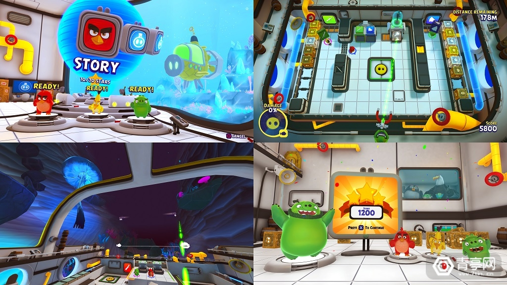 支持与非VR玩家协作,《愤怒的小鸟大电影2》PS VR版夏季上线