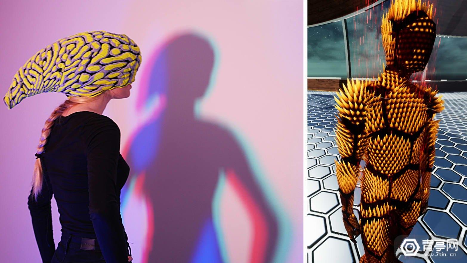 MIT用怪诞的形状和颜色,来让VR里的朋友了解你的情绪