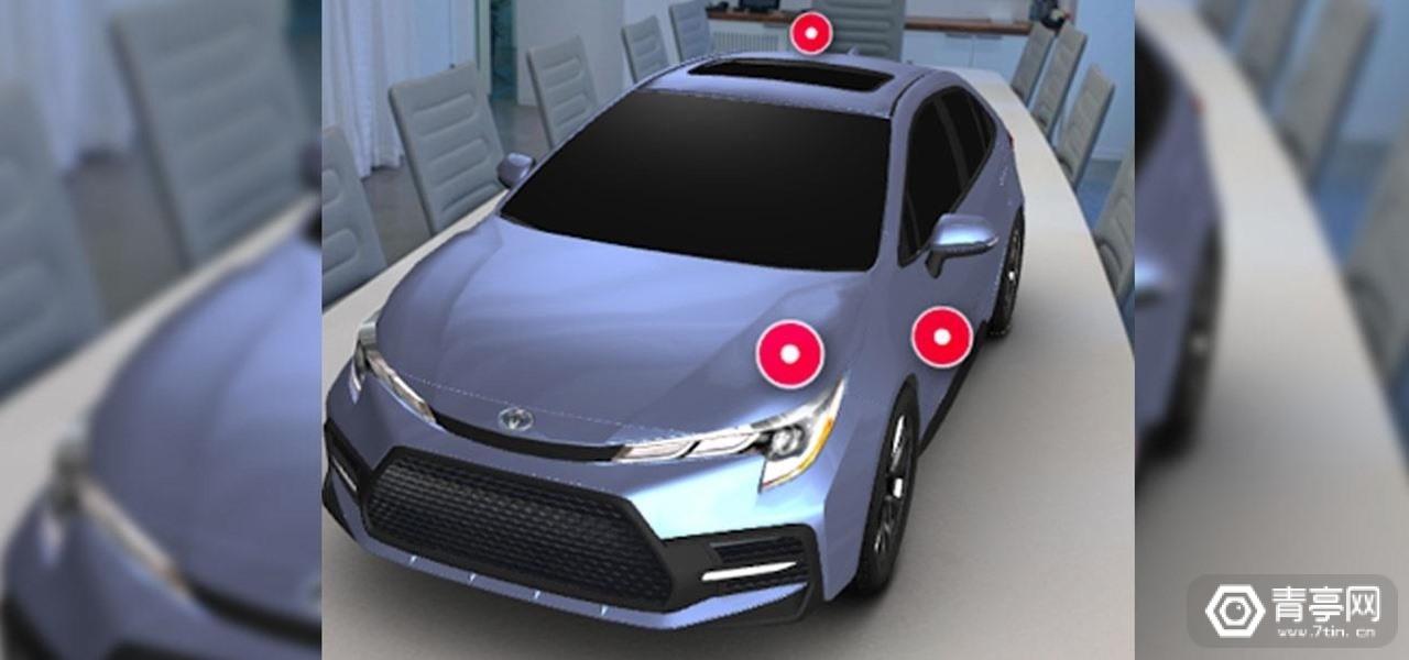 与8th Wall合作,丰田用WebAR广告宣传2020款卡罗拉