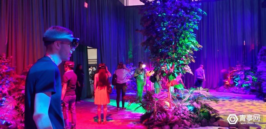 E3 2019最好玩的展馆:用AR和投影展示虚幻艺术
