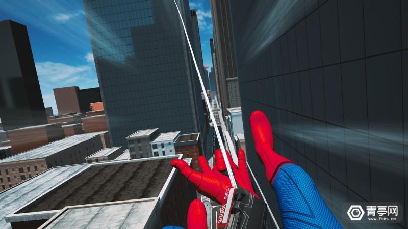 VR游戏《蜘蛛侠:英雄远征》