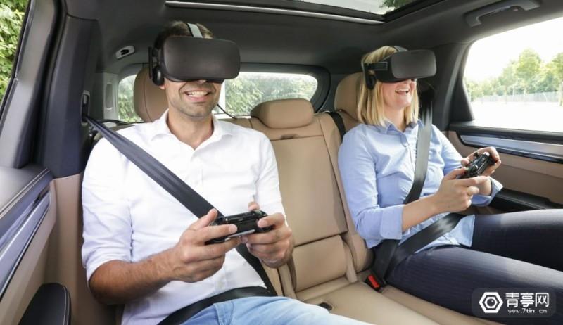 保时捷与Holoride合作,未来或提供车载VR娱乐系统