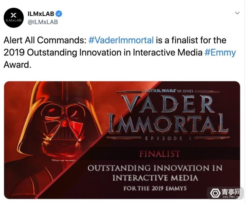 【《星球大战:Vader Immortal》、《墙壁里的狼》获艾美奖提名】图4