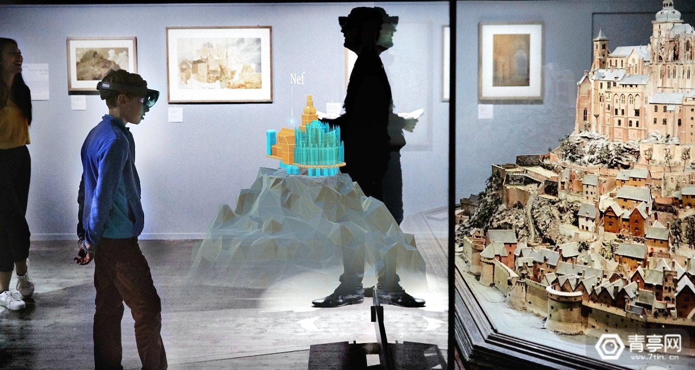 曾展示AR版圣米歇尔山,微软在新文化保护项目投入1000万美元