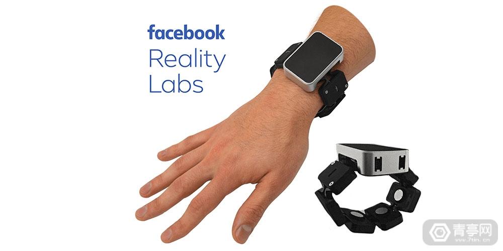 采用动态张力调整原理,Facebook VR/AR体感腕带来袭