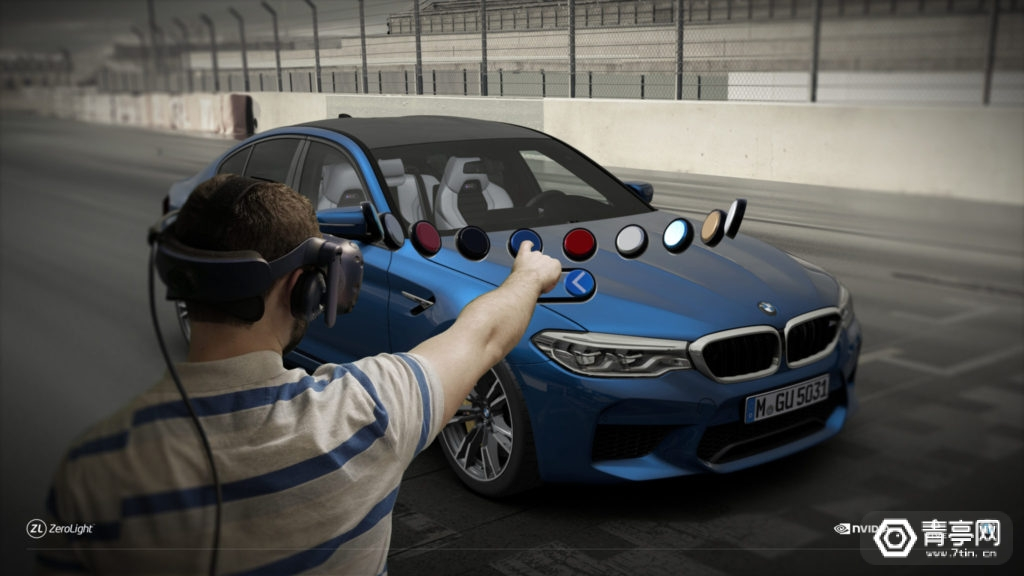 Zerolight将VR和眼球追踪无缝用于汽车可视化解决方案