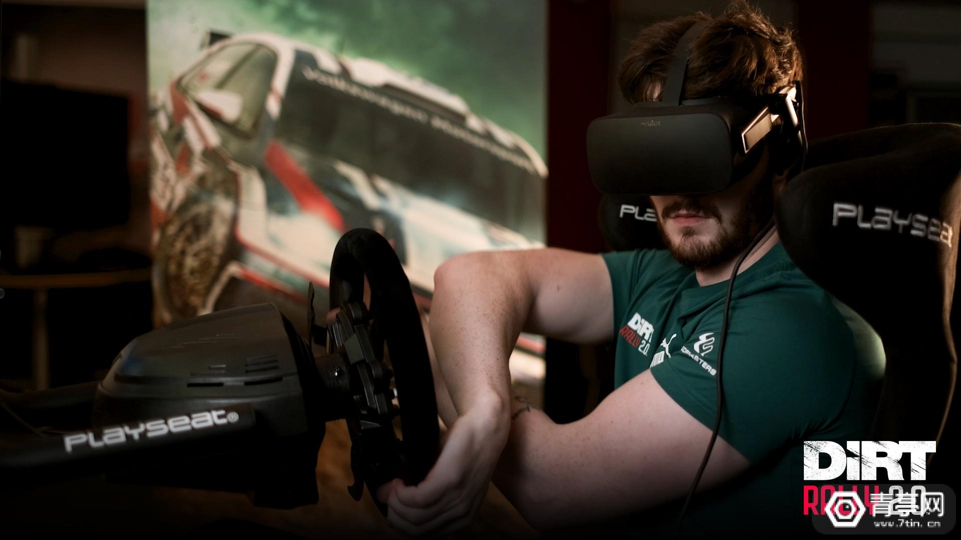 《尘埃拉力赛 2.0》VR模式正式上线,支持Vive/Rift/Index