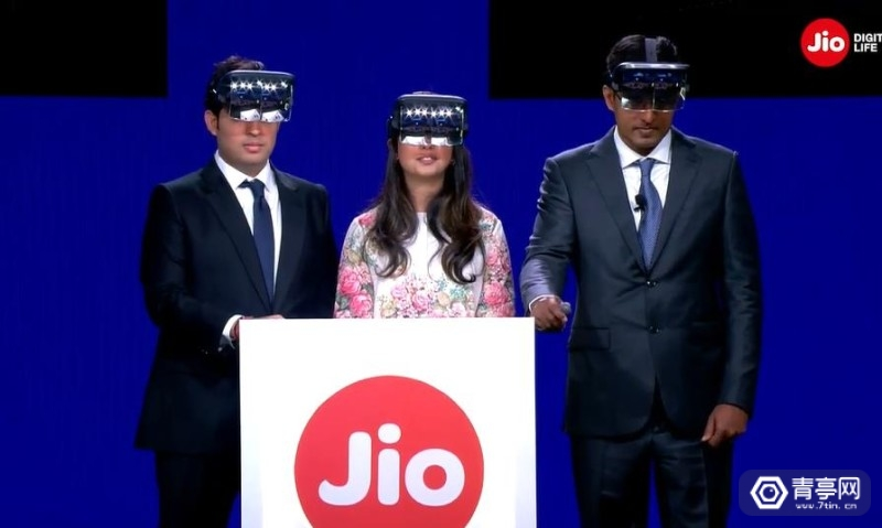Reliance Jio  Tesseract    Holoboard AR