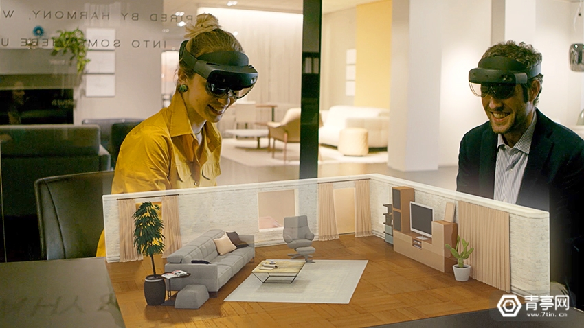 意大利家具品牌Natuzzi开设了首家AR零售店