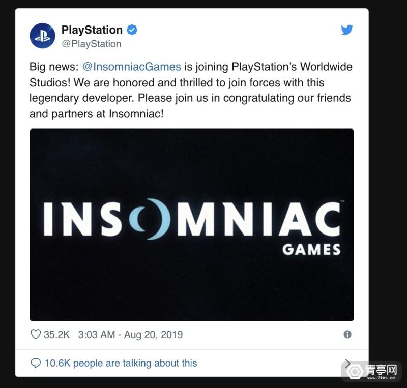 索尼收购VR游戏《Stormland》开发公司Insomniac图2