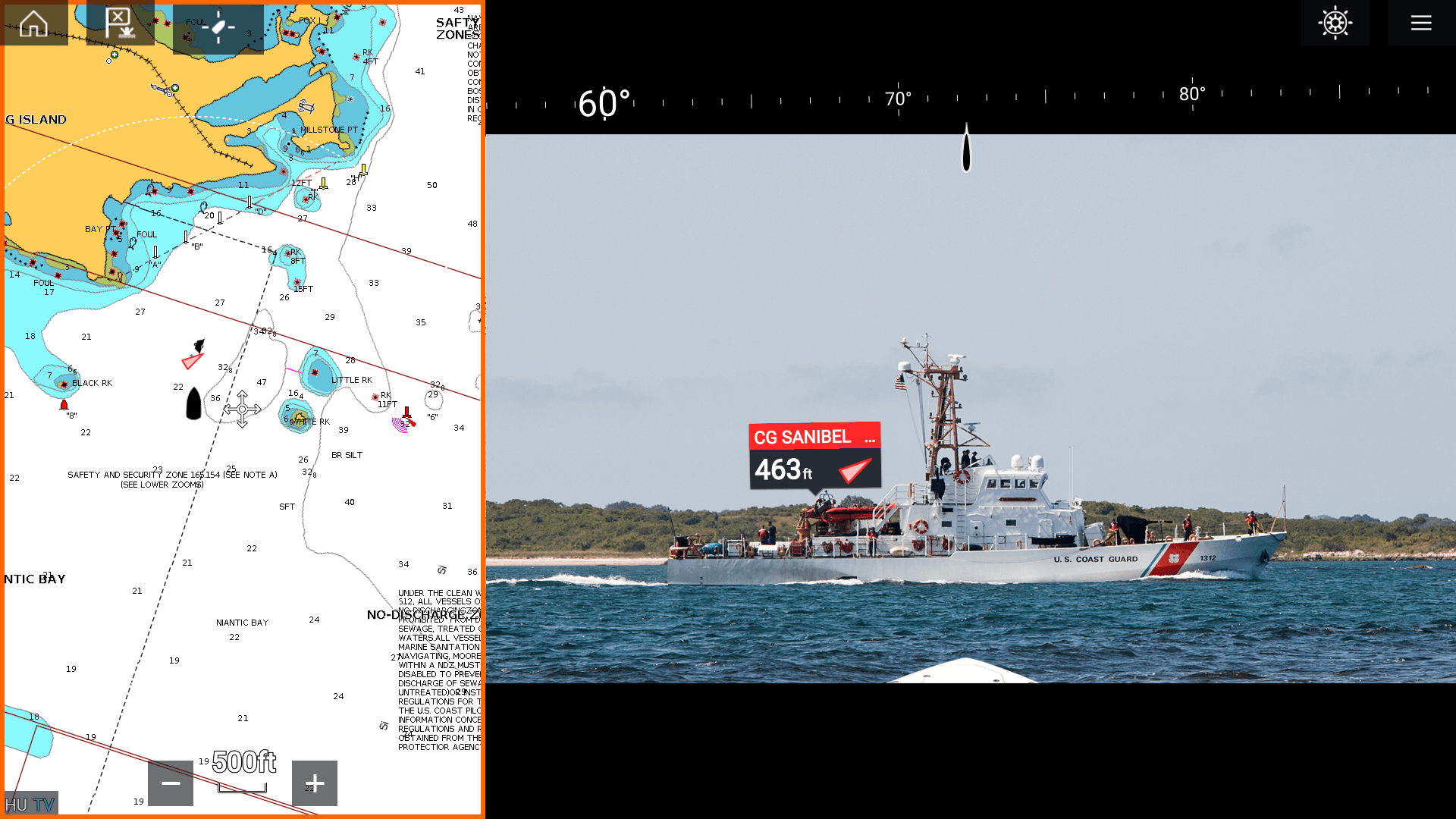 基于AR技术,Raymarine打造了一套船舶导航系统