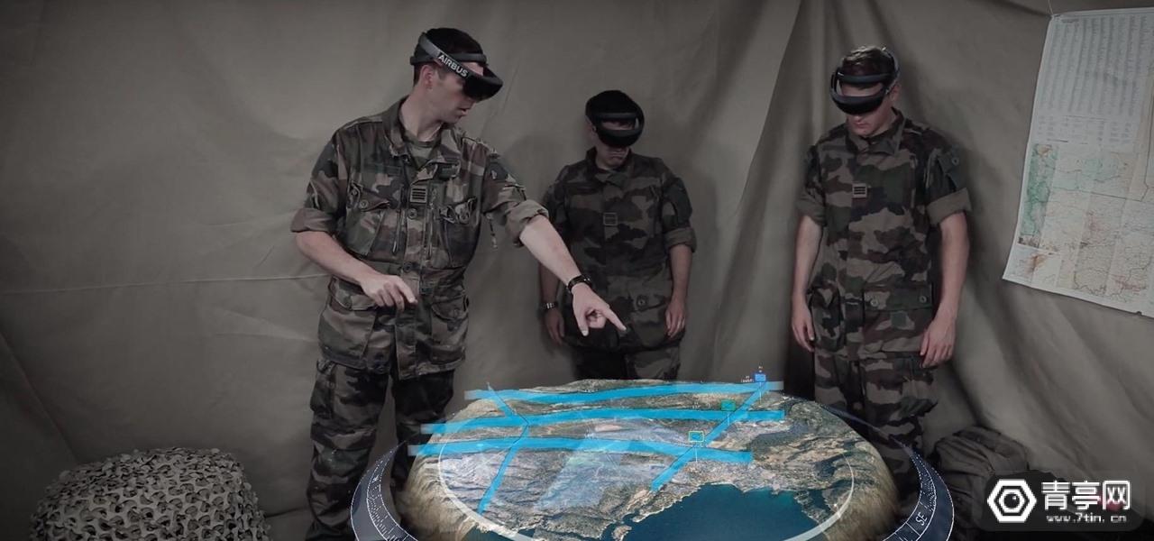 为帮助士兵了解战场,空客发布全息战术沙盒HoloLens应用