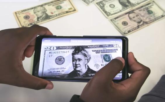 """谷歌通过AR解决方案让女性头像""""出现""""在美元纸币上"""