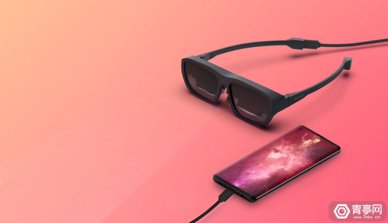 MAD Gaze最新AR眼镜GLOW开启众筹,369美元起