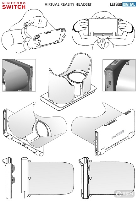 【任天堂专利曝光:或为Switch推新款VR配件】图2