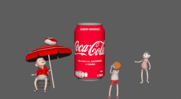 将易拉罐与AR结合,可口可乐打造新营销方式