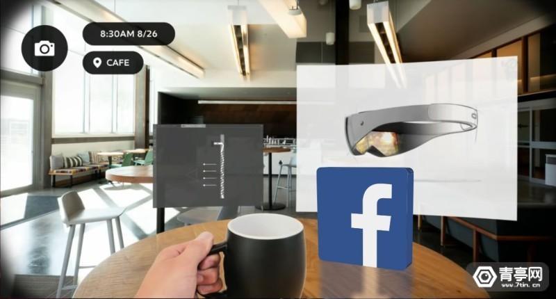 传Facebook AR眼镜将于2023年后推出,并也在开发拍照眼镜