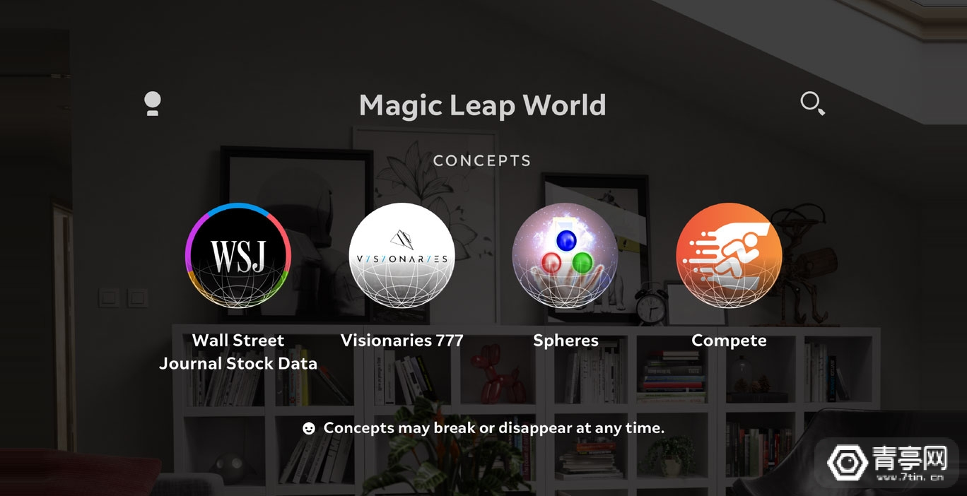 Magic Leap推概念应用测试平台Concepts