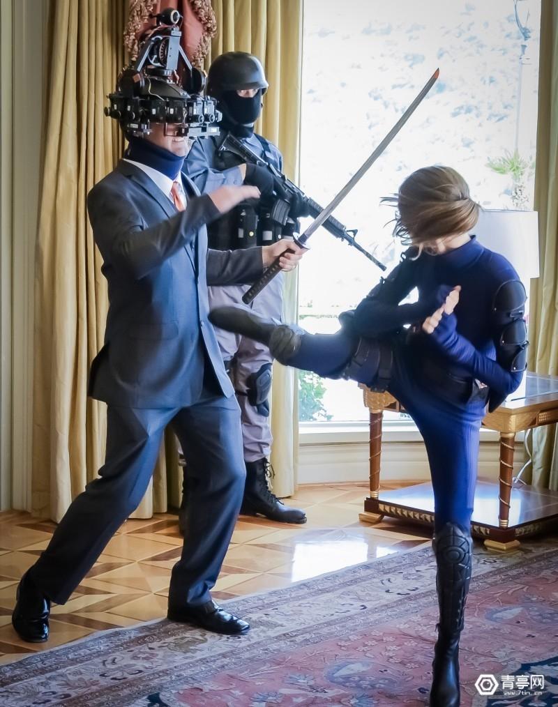 第一人称VR电影《Agent Emerson》