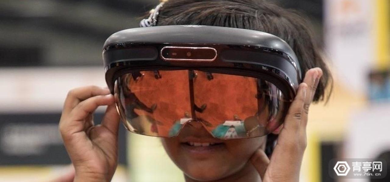 外形酷似Meta,Dimension NXG推AR/VR双模头显一体机