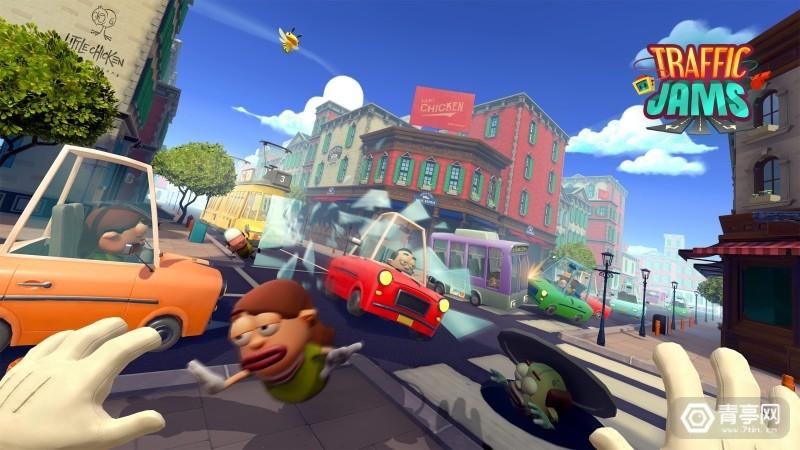 模拟交通指挥类VR应用《Traffic Jams》亮相