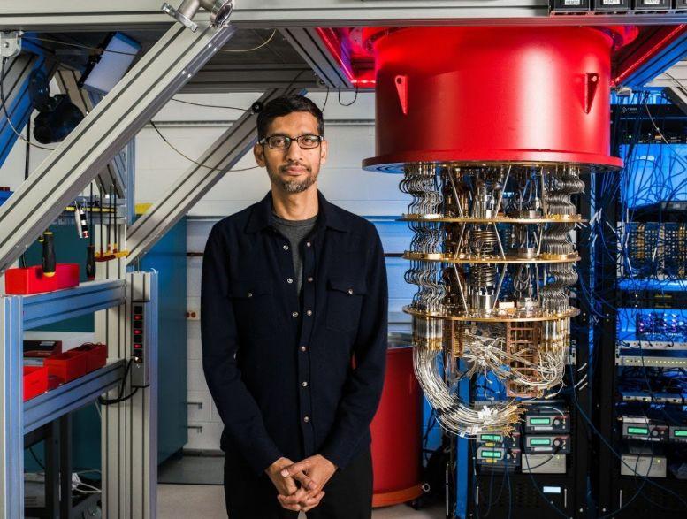 谷歌 AI 量子Sycamore