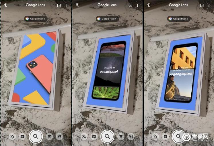 谷歌AR玩的溜,Pixel 4手机盒暗藏AR彩蛋