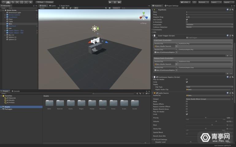 面向广大VR开发者,VR触觉开发工具包RGB Haptics来袭图3