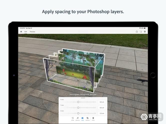 Adobe Aero现已登陆iOS,将PS图层变成AR交互图3