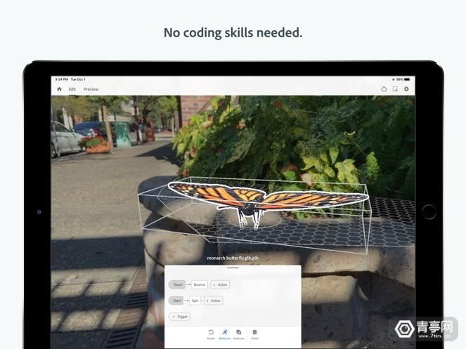 Adobe Aero现已登陆iOS,将PS图层变成AR交互图2