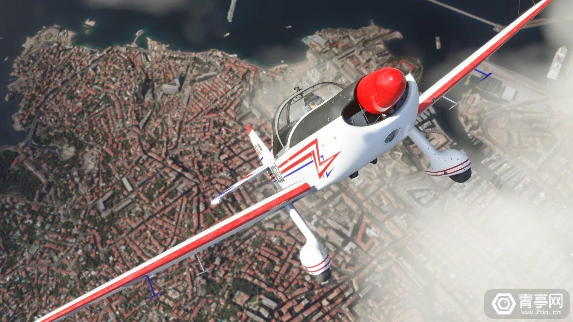 X019:《微软飞行模拟》新预告,蓝天白云驾机翱翔