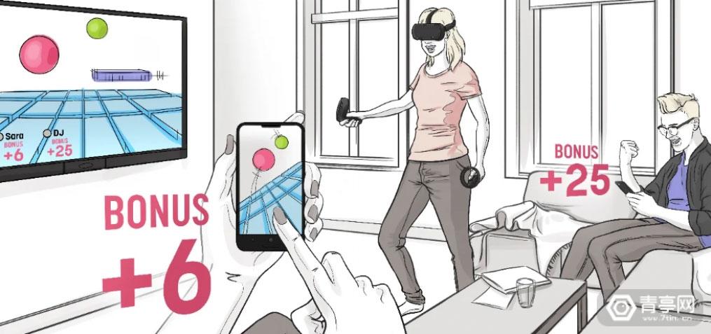 Oculus新VR界面概念图曝光,展示多种跨设备线上社交功能