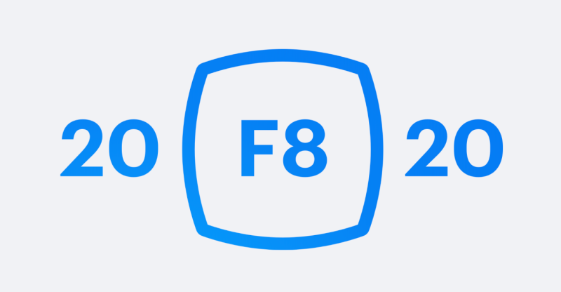 2020 F8