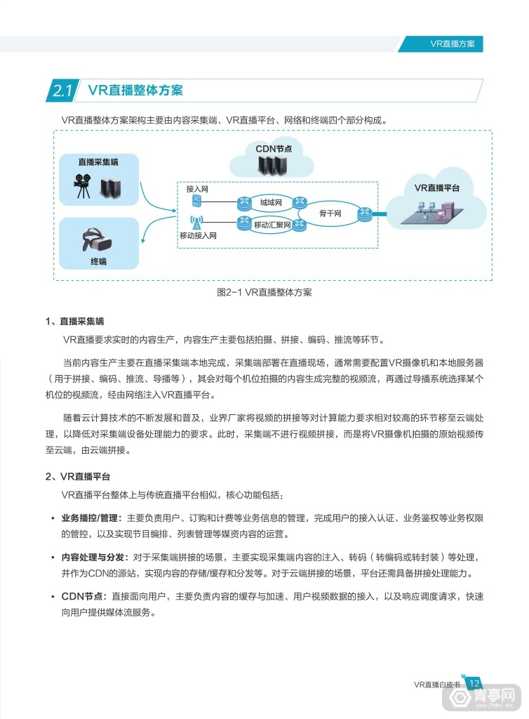 华为 中国联通《VR直播白皮书》 (17)
