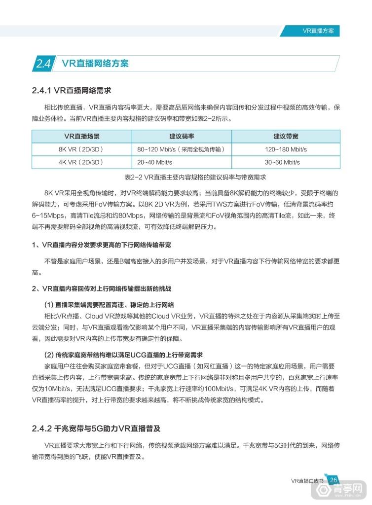 华为 中国联通《VR直播白皮书》 (31)