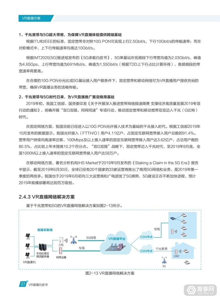 华为 中国联通《VR直播白皮书》 (32)