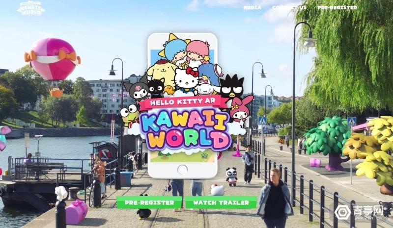 Hello Kitty AR:Kawaii World