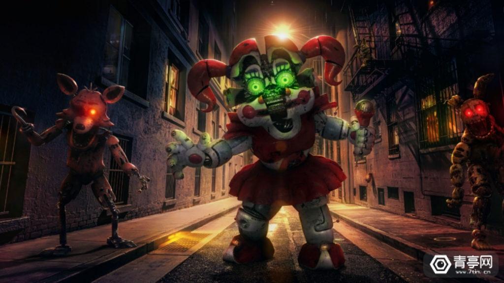 恐怖类LBS AR游戏:《玩具熊五夜后宫》AR来袭