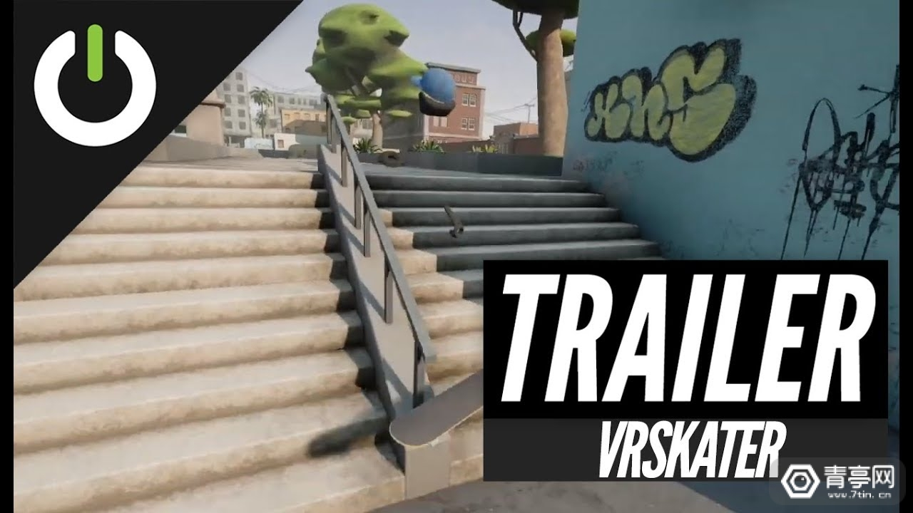 VR滑板模拟游戏《VRSkater》将于明年春季上线