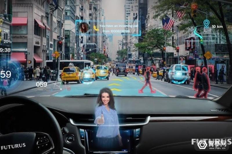 Futurus将于CES2020展示汽车前挡玻璃AR显示技术