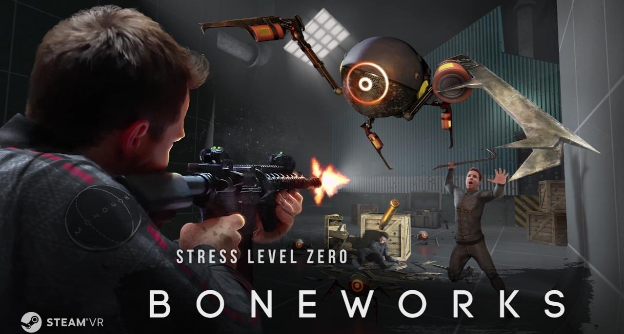 VR游戏《Boneworks》体验:物理交互惊艳有趣,硬核玩家必入