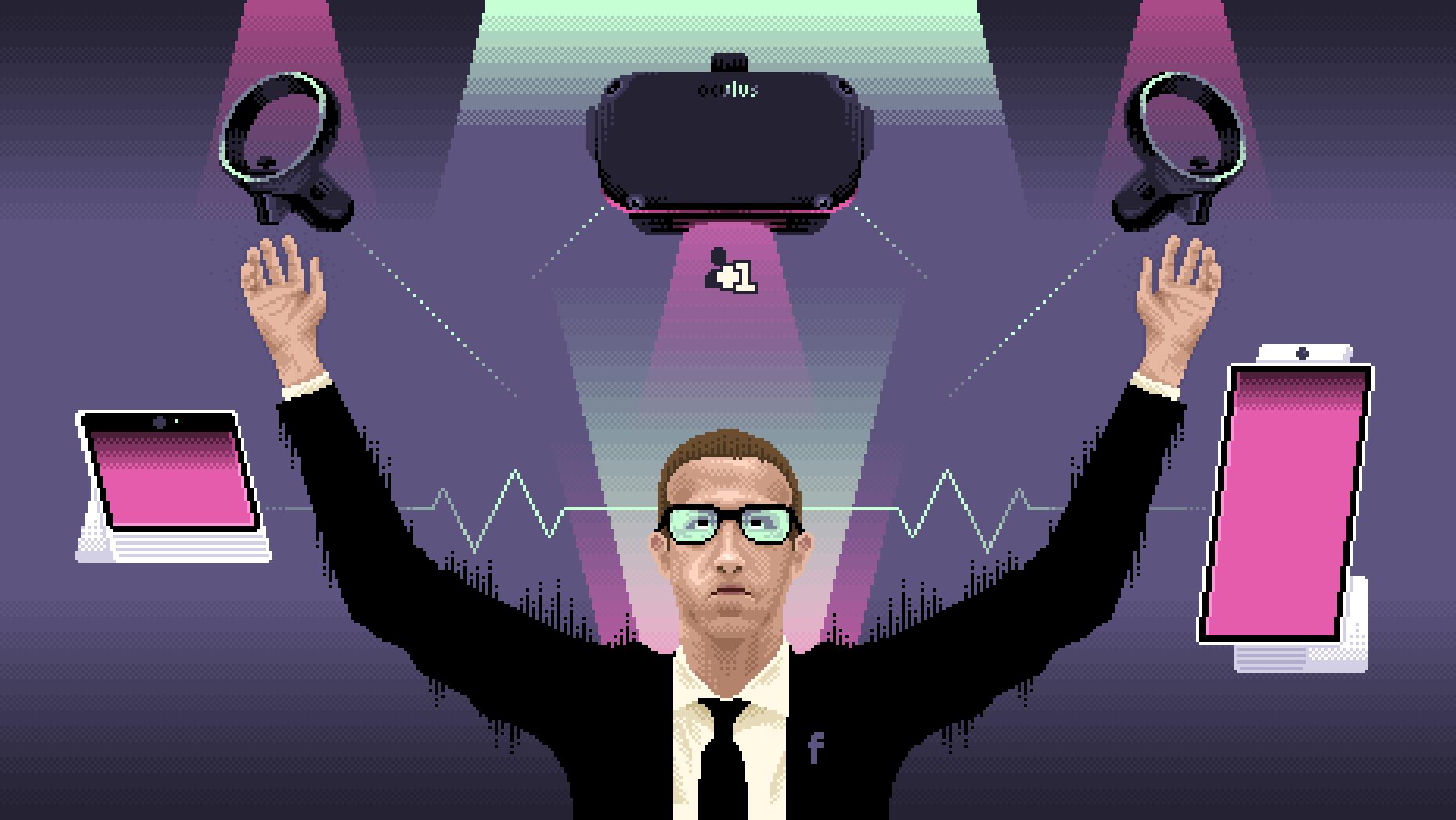 为了掌握未来AR/VR,Facebook决定自研操作系统
