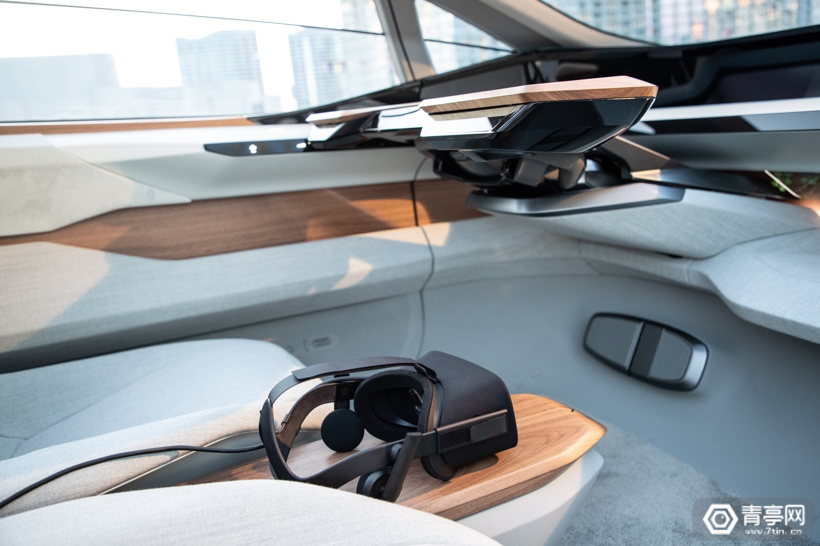 CES 2020:奥迪AI:ME概念车内置车载VR娱乐方案
