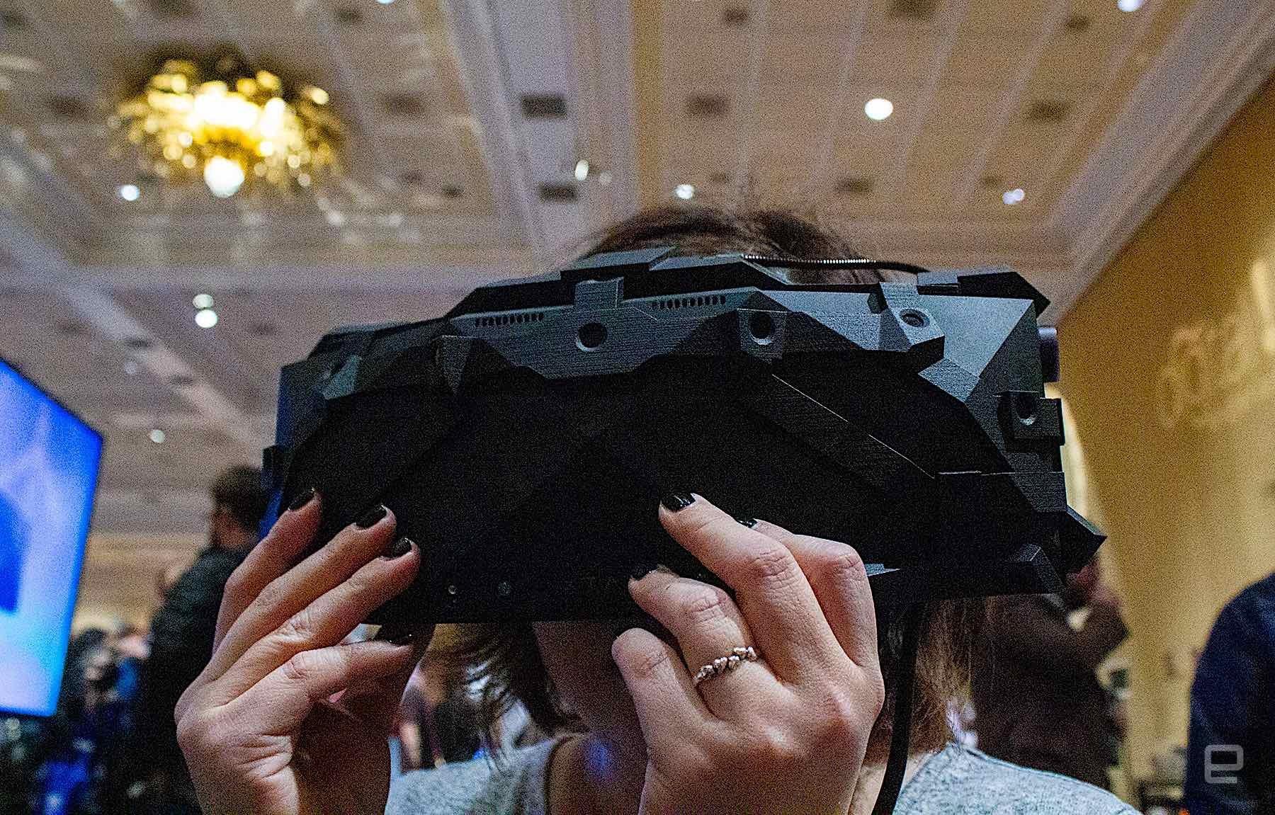 CES 2020:为宇航员培训打造,VRgineers展示单目4K VR头显
