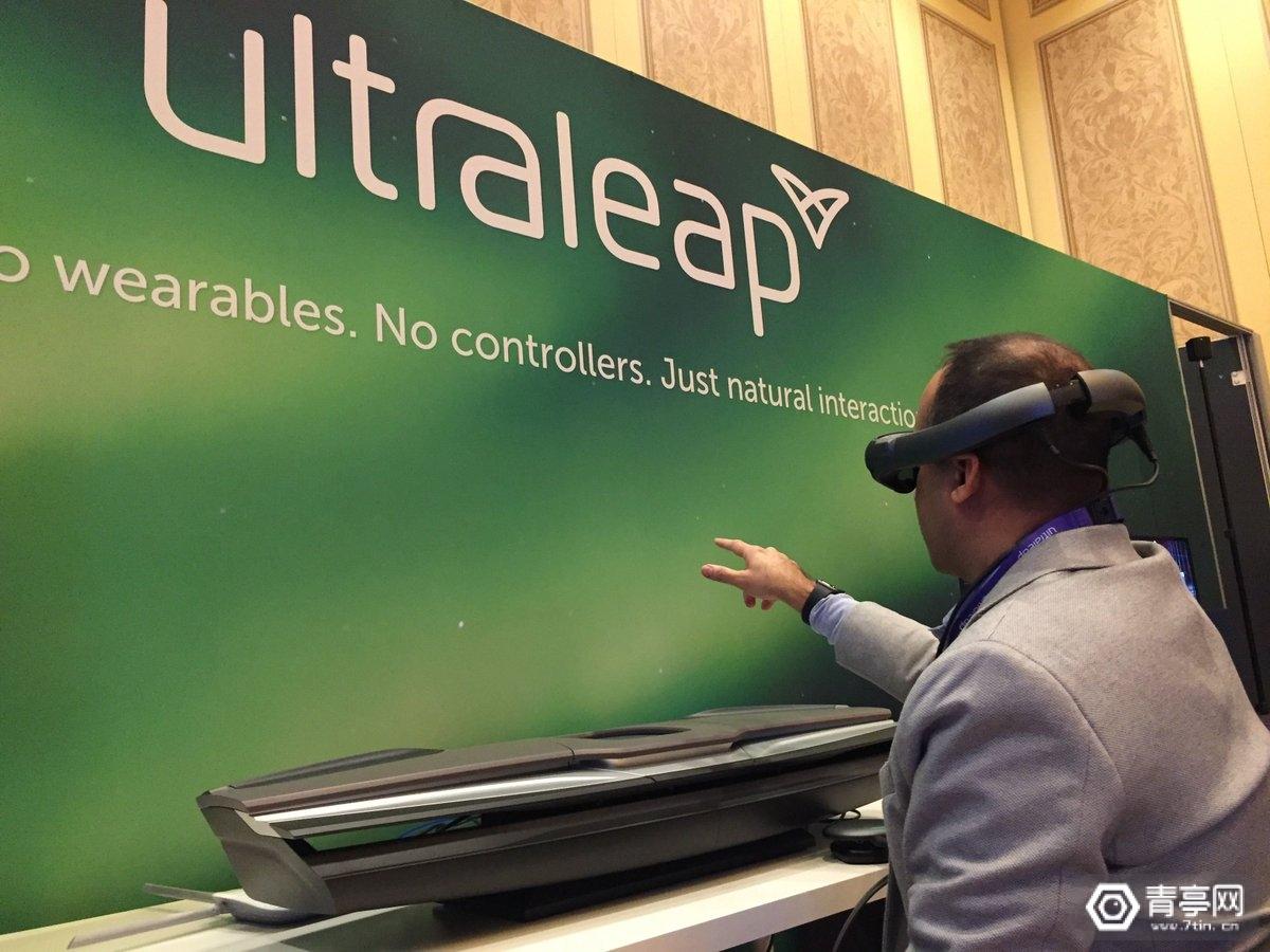 CES 2020:Ultraleap展示AR+手势识别车内界面