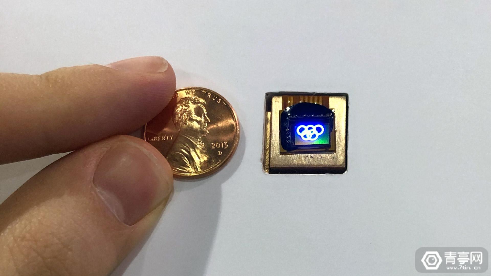 CES 2020:JBD展示0.31英寸Micro LED模组,亮度300万尼特
