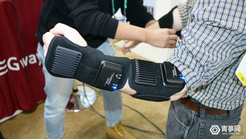 CES 2020:可模拟多种温度,TEGway展示柔性VR体感套装